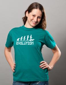 Dámské sportovní tričko Pejskař – Pejskař evoluce