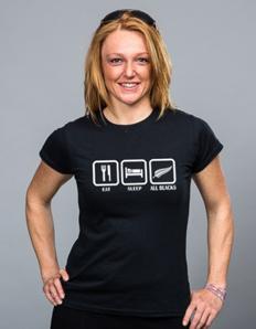 Dámské sportovní tričko Rugby – All Blacks eat