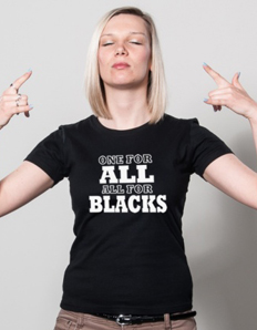 Dámské sportovní tričko Rugby – All Blacks one