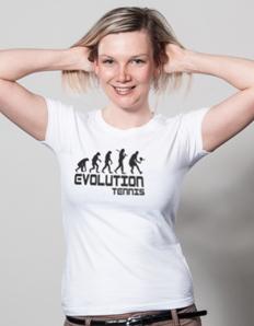 Dámské sportovní tričko Tenis – Tenis evoluce