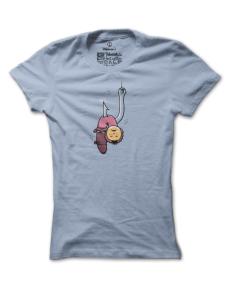 Dámské tričko s potiskem Žížala Julie