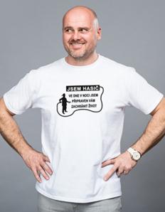 Pánské sportovní tričko Hasičské – Jsem hasič