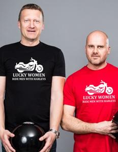 Pánské sportovní tričko Motorkářské – Ride harley