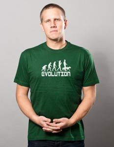 Pánské sportovní tričko Pejskař – Pejskař evoluce