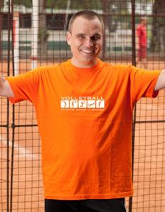 Pánské sportovní tričko Volejbal – Volleyball