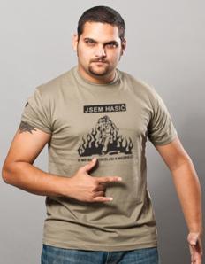 Pánské sportovní tričko Hasičské – Hasič v blízkosti