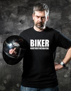 Pánské sportovní tričko Motorkářské – Biker rychle