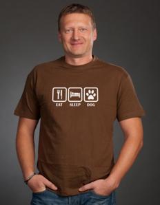 Pánské sportovní tričko Pejskař – Pejskař eat
