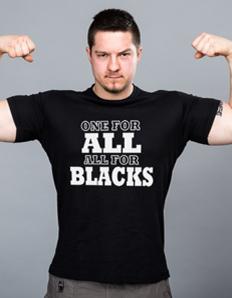 Pánské sportovní tričko Rugby - All Blacks one