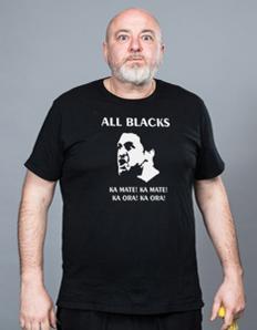 Pánské sportovní tričko Rugby - All Blacks
