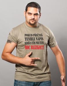 Pánské sportovní tričko Rybářské – Rybářský prut