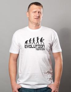 Pánské sportovní tričko Tenis – Tenis evoluce