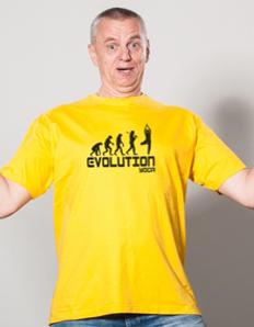 Pánské sportovní tričko Yoga – Yoga evoluce