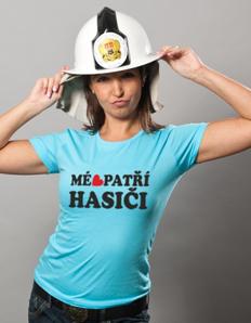 Dámské sportovní tričko Hasičské - Miluji hasiče