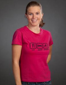 Dámské sportovní tričko Jídelníček – Agility eat