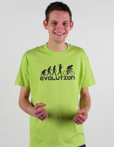 Pánské sportovní tričko Cyklistika – Cyklo evoluce
