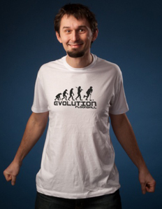 Pánské sportovní tričko Florbal – Florbal evoluce