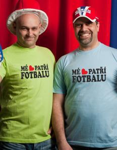 Pánské sportovní tričko Fotbal – Srdce fotbalu