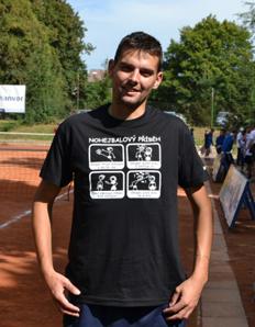Pánské sportovní tričko Nohejbal – Nohejbalový příběh (nohejstory)