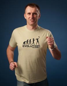 Pánské sportovní tričko Volejbal - Volejbal evoluce