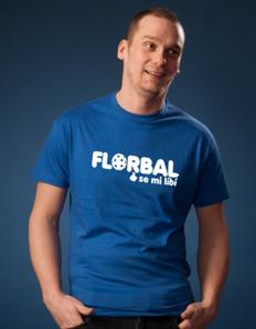 Pánské sportovní tričko Florbal – Florbal to se mi líbí