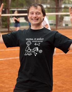 Pánské sportovní tričko Volejbal – Volejbal je skvělej