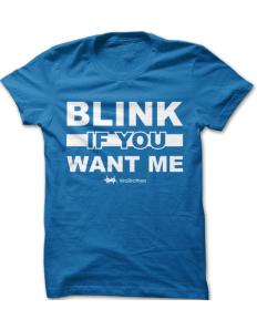 Pánské tričko ViralBrothers – Blink if you want me