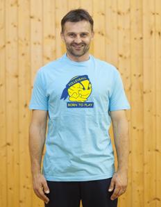 Pánské sportovní tričko Volejbal – Born to play
