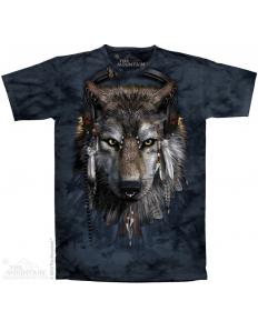 Dámská trička se zvířecím potiskem (the mountain) DJ Wolf