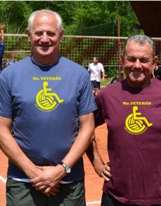Pánské sportovní tričko Volejbal – Mr. Veterán
