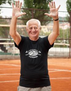 Pánské sportovní tričko Volejbal - Veterán