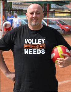 Pánské sportovní tričko Volejbal – Volley needs