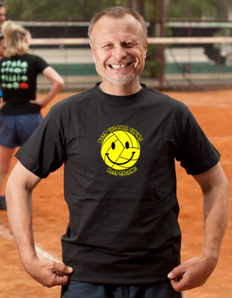 Pánské sportovní tričko Volejbal – Volleysmile