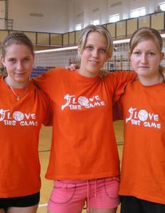 Pánské sportovní tričko Volejbal – This game