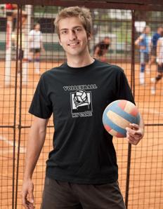 Pánské sportovní tričko Volejbal – Volleyball my game
