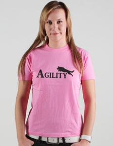 Dámské sportovní tričko Pejskaři – Agility