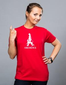 Dámské sportovní tričko Pejskaři – Obedience