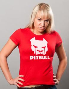 Dámské sportovní tričko Pitbull - Pitbull maska