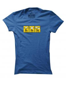 Dámské tričko s potiskem Ba-na-na