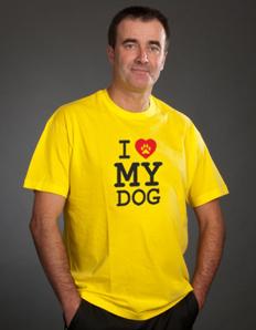 Pánské sportovní tričko Pejskař – Love my dog
