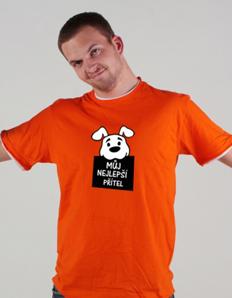 Pánské sportovní tričko Pejskař – Můj nejlepší přítel