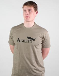 Pánské sportovní tričko Pejskař – Agility