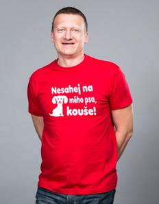 Pánské sportovní tričko Pejskař – Nesahej kouše