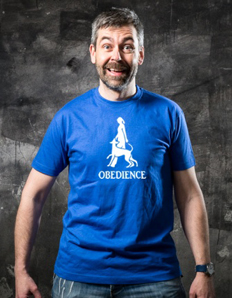 Pánské sportovní tričko Pejskař – Obedience