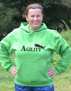 Sportovní mikina s potiskem Pejskař – Agility
