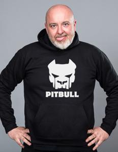 Sportovní mikina s potiskem Pitbull – Pitbull maska