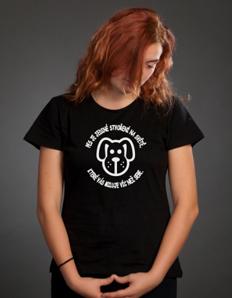 Dámské sportovní tričko Pejskaři – Pes miluje
