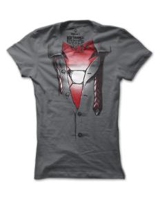 Dámské tričko s potiskem Iron Man inside