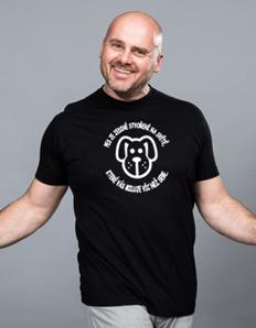 Pánské sportovní tričko Pejskař - Pes miluje