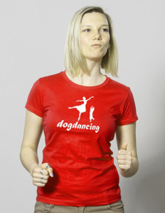 Dámské sportovní tričko Pejskaři – Dogdancing